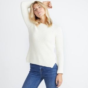 NWT Marine Layer Delaney Pullover Off White $128